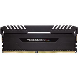 16GB Corsair Vengeance RGB schwarz DDR4-4000 DIMM CL19 Dual Kit