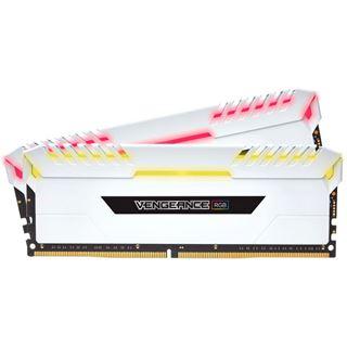 16GB Corsair Vengeance RGB weiß DDR4-3600 DIMM CL18 Dual Kit