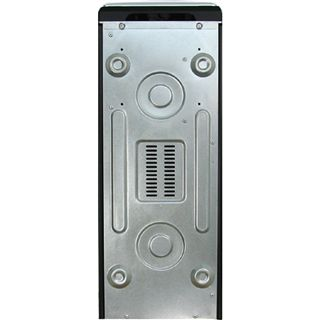 Inter-Tech CA-01 Emotion Silver Midi Tower ohne Netzteil