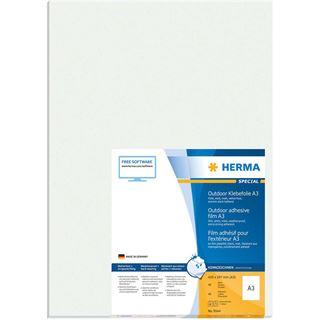HERMA Outdoor Folien-Etiketten SPECIAL, 420 x 297 mm, weiß