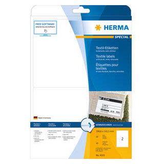 HERMA Namens-Etiketten SPECIAL, 199,6 x 143,5 mm, weiß