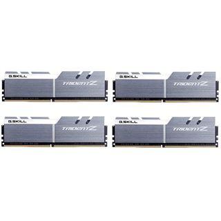 32GB G.Skill Trident Z silber/weiß DDR4-4000 DIMM CL18 Quad Kit