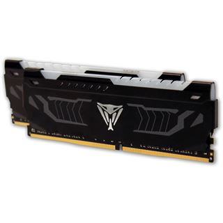 16GB Patriot Viper LED weiß DDR4-2400 DIMM CL14 Dual Kit