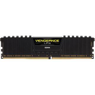 32GB Corsair Vengeance LPX schwarz DDR4-3000 DIMM CL16 Quad Kit