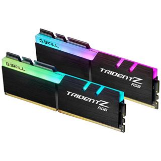 32GB G.Skill Trident Z RGB für AMD Ryzen DDR4-2933 DIMM CL16 Dual Kit