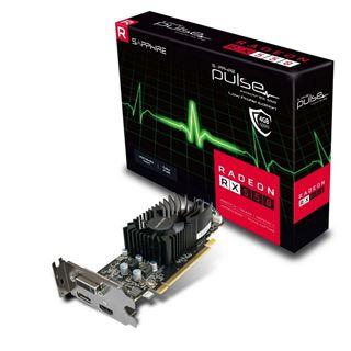4GB Sapphire Radeon RX 550 Pulse OC LP Aktiv PCIe 3.0 x16 (Lite