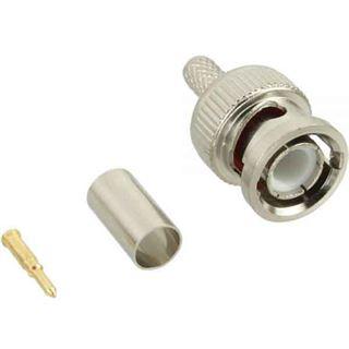 BNC Crimpstecker RG59, für Video-Kabel