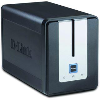 """D-Link Gigabit Storage DNS-323 NAS System 2x3,5"""" SATA II HDD Schwarz"""