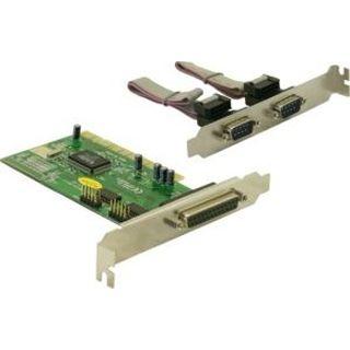 Delock 89004 3 Port PCI zweites Slotblech retail
