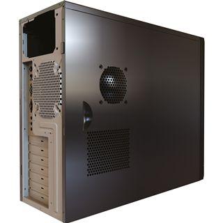Gigabyte GZ-X1 USB 2.0 Midi Tower ohne Netzteil schwarz