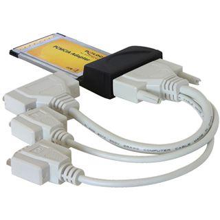 Delock 61623 3 Port PCMCIA retail
