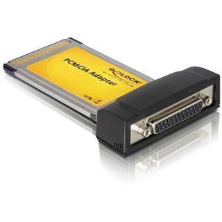 DeLock PCMCIA CardBus zu 1x parallel