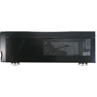Inter-Tech 2008-T Alu Desktop ohne Netzteil schwarz