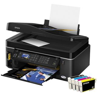 Epson Stylus Office BX600FW Multifunktion Tinten Drucker 5760x1440 WLAN/LAN/USB2.0