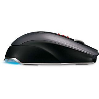 Microsoft Wireless SideWinder X8 Laser Gaming Maus Blau USB