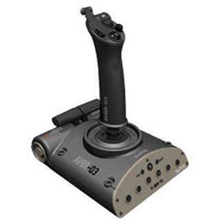 Saitek Aviator USB grau PC/PS3