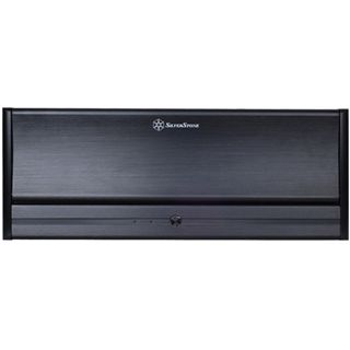 Silverstone La Scala LC13B-E Desktop ohne Netzteil schwarz