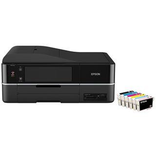 Epson Stylus Photo PX800FW Multifunktion Tinten Drucker 5760x1440dpi WLAN/LAN/USB2.0
