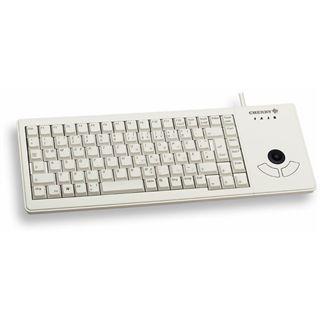 CHERRY G84-5400LUMDE-0 USB Deutsch weiß (kabelgebunden)