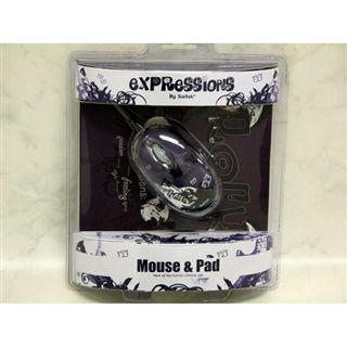 Saitek Expression Mouse & Pad - Rock Chick