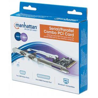 Manhattan, Serial 2 port + 1 Parallel , PCI