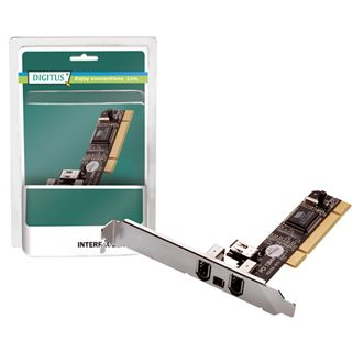 Digitus DS-33204 4 Port PCI Hot Plugging/inkl. Low Profile Slotblech retail