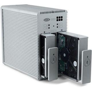 3000GB Lacie 2Big Quadra USB 2.0, Firewire, eSATA silber