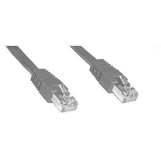 (€13,00*/1m) 0.30m InLine Cat. 6 Patchkabel S/FTP PiMF RJ45 Stecker auf RJ45 Stecker Braun