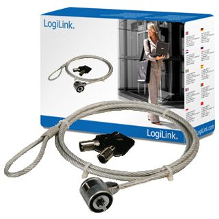 LogiLink NBS003 Notebook Diebstahlsicherung mit Schloss