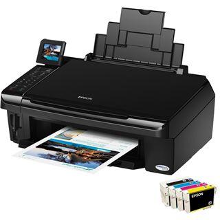 Epson Stylus InkJet SX510W Multifunktion Tinten Drucker 5760x1440dpi WLAN/LAN/USB2.0