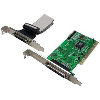 LogiLink PC0014 2 Port PCI zweites Slotblech retail