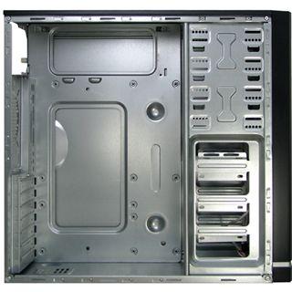 Inter-Tech Starter Case 1 Midi Tower 500 Watt schwarz/silber