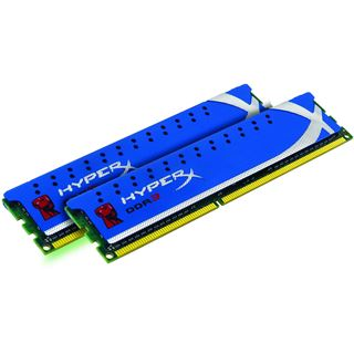 4GB Kingston HyperX DDR3-1600 DIMM CL8 Dual Kit