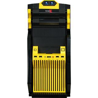 Inter-Tech FX-09M DredgerZ Midi Tower ohne Netzteil gelb