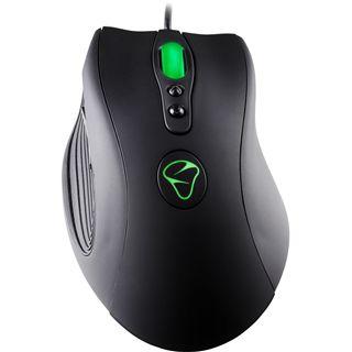 Mionix 3200 Saiph Gaming Laser Maus Schwarz USB