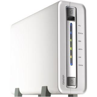 """QNAP Turbostation TS-110 NAS System für 2,5"""" und 3,5"""" SATA II HDD Weiß"""