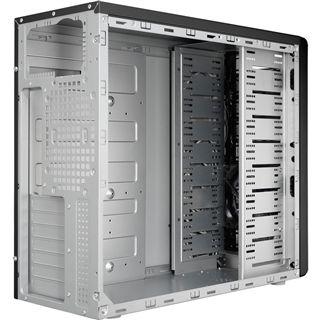 ATX Midi Nox Coolbay Black Windows mit Seitenfenster (ohne Netzteil)
