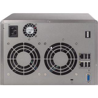 "QNAP Turbostation TS-659 Pro NAS System für 6x2,5"" oder 6x3,5"" SATA II HDD Schwarz"