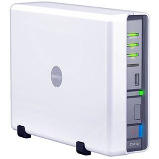 """Synology Disk Station DS110j NAS System für 2,5"""" oder 3,5"""" SATA II HDD Weiß"""