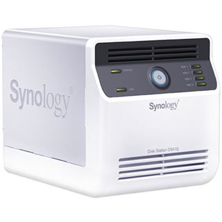 Synology DiskStation DS410j, Gb LAN, weiß