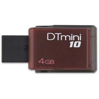 4GB Kingston DataTraveler Mini 10 rot USB 2.0