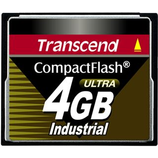 4 GB Transcend Industrial Ultra Compact Flash TypI 100x Bulk