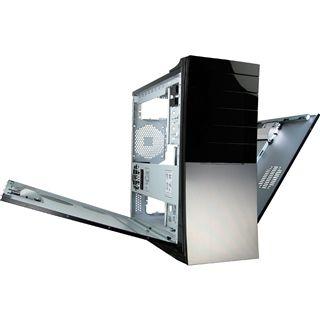 Inter-Tech IT-9011 Archer Midi Tower ohne Netzteil schwarz/silber