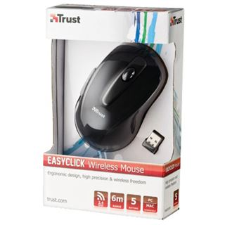 Trust EasyClick Mouse (16535) USB schwarz/grau (kabelgebunden)