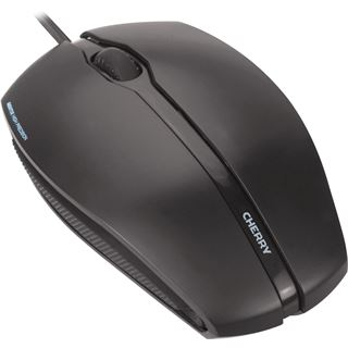 CHERRY GENTIX Corded Optical Mouse USB schwarz (kabelgebunden)