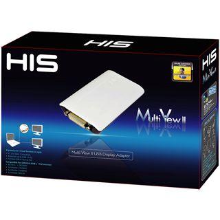 HIS USB auf DVI Multiview Adapter II