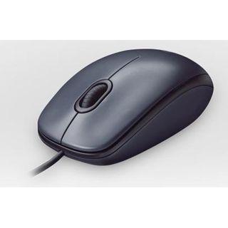 Logitech M90 USB schwarz (kabelgebunden)