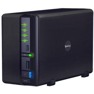 """Synology Disk Station DS210+ NAS System für 2x2,5"""" oder 2x3,5"""" SATA II HDD Schwarz"""