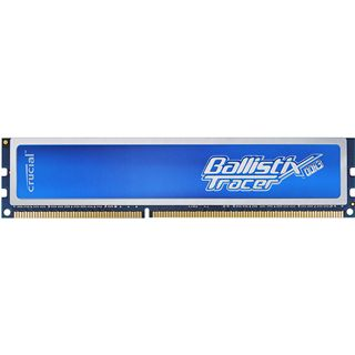 2GB Crucial Ballistix Tracer Blue DDR3-1600 DIMM CL8 Single