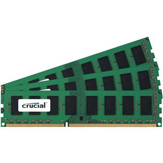 6GB Crucial Ballistix DDR3-1333 DIMM CL9 Tri Kit